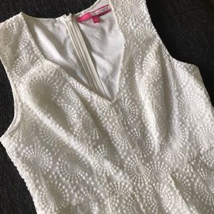 Tracy Reese white lace dress